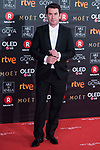 Arturo Valls attends red carpet of Goya Cinema Awards 2018 at Madrid Marriott Auditorium in Madrid , Spain. February 03, 2018. (ALTERPHOTOS/Borja B.Hojas)