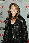 KATEY SAGAL. Arrivals to the premiere screening of the FX original drama series, Justified, at the Directors Guild of America. Los Angeles, CA, USA. March 8, 2010.