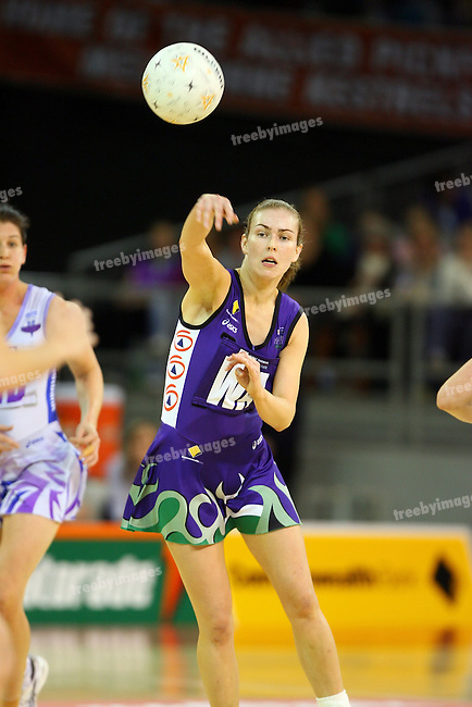 Commonwealth Bank Trophy, 29-7-07, Vodafone Arena,Melbourne  Phoenix defeated  Thunderbirds 54-46,.Photo: Grant Treeby