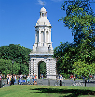 Ireland, Dublin County, Dublin: Trinity College, The Campanile | Irland, Dublin County, Dublin: Trinity College, The Campanile