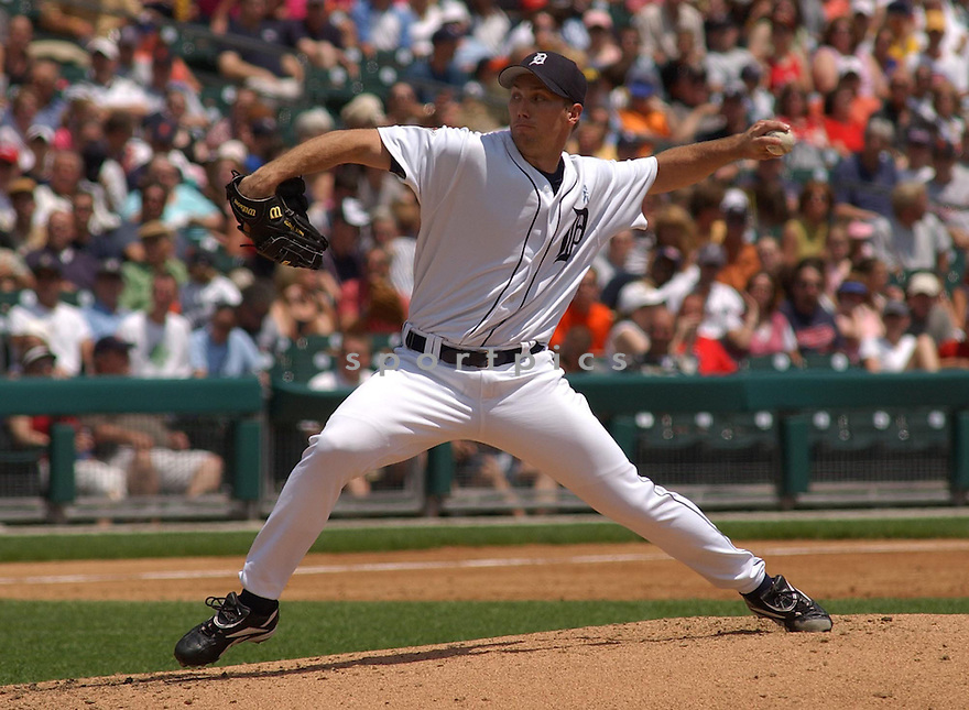 Mike Maroth of the Detroit Tigers in action against the San Francisco Giants. ....Tigers won 10-8.....Chris Bernacchi  / SportPics..