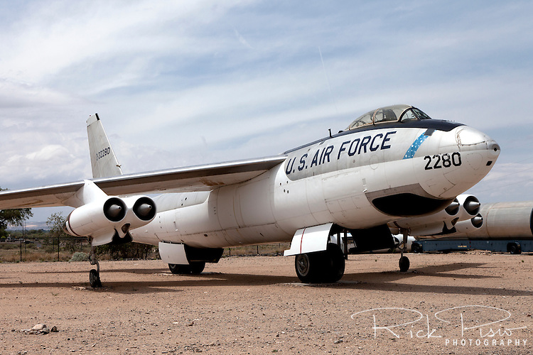 Boeing B-47 Stratojet on display at the Nuclear Science and History Museum in Albuquerque, New Mexico.