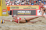 30.05.2015, Moskau, Vodny Stadion<br /> Moskau Grand Slam, Main Draw / Halbfinale<br /> <br /> Abwehr Marleen van Iersel (#1 NED)<br /> <br />   Foto &copy; nordphoto / Kurth