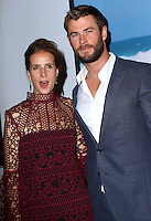 www.acepixs.com<br /> <br /> January 23 2017, New York City<br /> <br /> Rachel Griffiths and Chris Hemsworth arriving at a Virtual Tour of Australia in NYC at Hudson Mercantile on January 23, 2017 in New York City.<br /> <br /> By Line: Nancy Rivera/ACE Pictures<br /> <br /> <br /> ACE Pictures Inc<br /> Tel: 6467670430<br /> Email: info@acepixs.com<br /> www.acepixs.com