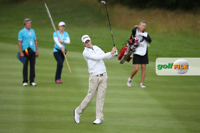 Kevin Phelan (IRL) started well but a 74 left himself outside the projected cut midway through Round Two of the BMW International Open 2014 from Golf Club Gut Lärchenhof, Pulheim, Köln, Germany. Picture:  David Lloyd / www.golffile.ie