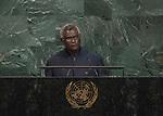 72 General Debate &ndash; 22 September <br /> <br /> <br /> <br /> Address by His Excellency Manasseh Sogavare, Prime Minister of Solomon Islands