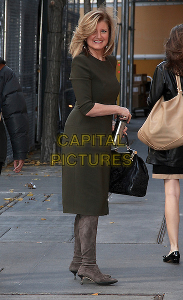 NEW YORK, NY - DECEMBER 1:  Arianna Huffington spotted on the Upper West Side in New York, New York on December 1, 2016.  <br /> CAP/MPI/RMP<br /> &copy;RMP/MPI/Capital Pictures