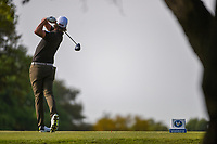 Roger Sloan (CAN) watches his tee shot on 2 during day 2 of the Valero Texas Open, at the TPC San Antonio Oaks Course, San Antonio, Texas, USA. 4/5/2019.<br /> Picture: Golffile | Ken Murray<br /> <br /> <br /> All photo usage must carry mandatory copyright credit (&copy; Golffile | Ken Murray)