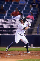 Tampa Yankees center fielder Mark Payton (11) at bat during a game against the Lakeland Flying Tigers on April 8, 2016 at George M. Steinbrenner Field in Tampa, Florida.  Tampa defeated Lakeland 7-1.  (Mike Janes/Four Seam Images)