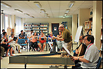 Stage di canto 'Atelier Monteverdi' per Europa Cantat 2012, alla Scuola di Musica Mozart, nel Centro Interculturale di corso Taranto.