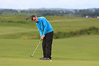 Ian Lynch (Rosslare) on the 1st green during Round 2 of The East of Ireland Amateur Open Championship in Co. Louth Golf Club, Baltray on Sunday 2nd June 2019.<br /> <br /> Picture:  Thos Caffrey / www.golffile.ie<br /> <br /> All photos usage must carry mandatory copyright credit (© Golffile   Thos Caffrey)