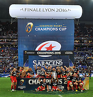2016 European Rugby Champions Cup Final. Racing 92 v Saracens at Grand Stade de Lyon, D