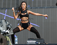 Dancers of MAJOR LAZER perform during The New Look Wireless Music Festival at Finsbury Park, London, England on Friday 03 July 2015. Photo by Andy Rowland.