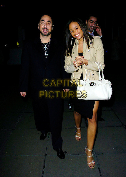 "DAVID GEST & GUEST.At the ""Dreamgirls"" Film Premiere After Party, Hayward Gallery, London, England, January 21st 2007..full length.CAP/CAN.©Can Nguyen/Capital Pictures"