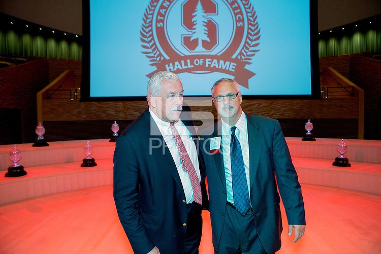 STANFORD, CA - OCTOBER 16, 2015-- The 2015 Stanford Athletics Hall of Fame Induction Ceremony at the Bing Concert Hall .