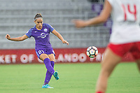 Orlando, FL - Saturday July 01, 2017: Monica during a regular season National Women's Soccer League (NWSL) match between the Orlando Pride and the Chicago Red Stars at Orlando City Stadium.