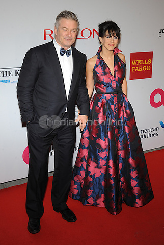 New York,NY- October 28: Alec Baldwin, Hilaria Baldwin attends the Elton John AIDS Foundation's 13th Annual An Enduring Vision Benefit at Cipriani Wall Street on October 28, 2014 in New York City In New York City on October 27, 2014 . Credit: John Palmer/MediaPunch