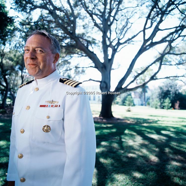 Captain Terry Pierce - Naval Post Graduate School, editorial, portrait