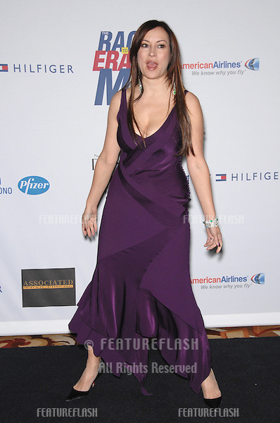 Jennifer Tilly at the 14th Annual Race to Erase MS gala at the Hyatt Regency Century Plaza in Los Angeles..April 14, 2007  Los Angeles, CA.Picture: Paul Smith / Featureflash