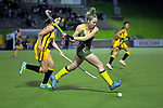 Action from the Wellington Secondary Schools Premier 1 Girls Grade hockey final between St Matthew's Collegiate and Wellington Girls' College at National Hockey Stadium in Wellington , New Zealand on Friday, 23 August 2019. Photo: Dave Lintott / lintottphoto.co.nz