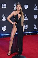 14 November 2019 - Las Vegas, NV - Cami. 2019 Latin Grammy Awards Red Carpet Arrivals at MGM Grand Garden Arena. Photo Credit: MJT/AdMedia