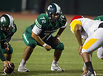 Torrance, CA 09/08/17 - Christian Palomarez (South #72) in action during the Hawthorne vs South Torrance CIF-SS non-conference Varsity football game at South Torrance High School.