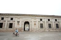 Veduta esterna di Palazzo Te a Mantova.<br /> Exterior of Palazzo Te in Mantua.<br /> UPDATE IMAGES PRESS/Riccardo De Luca