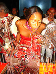 Naomi Campbell Birthday Party 05/20/2004