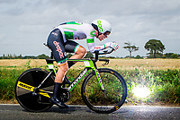 Picture by Alex Whitehead/SWpix.com - 07/09/2017 - Cycling - OVO Energy Tour of Britain - Stage 5, The Tendring Stage Individual Time Trial - Ryan Mullen of Cannondale Drapac in action.