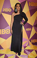 BEVERLY HILLS, CA - JANUARY 07: Actress Garcelle Beauvais arrives at HBO's Official Golden Globe Awards After Party at Circa 55 Restaurant in the Beverly Hilton Hotel on January 7, 2018 in Los Angeles, California.