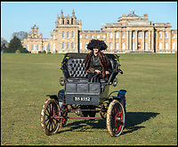 Back to the Future - One of Britains oldest electric cars returns to Blenheim Palace.