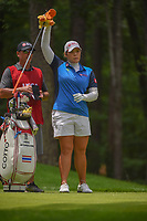 Ariya Jutanugarn (THA) looks over her tee shot on 11 during round 2 of the U.S. Women's Open Championship, Shoal Creek Country Club, at Birmingham, Alabama, USA. 6/1/2018.<br /> Picture: Golffile | Ken Murray<br /> <br /> All photo usage must carry mandatory copyright credit (&copy; Golffile | Ken Murray)