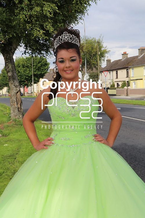 8/August/2012   Megan Collins, 35 Hyde road, Limerick.  Scoil Carmel Debs. Photograph Liam Burke/Press 22