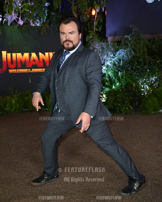 """Jack Black at the Los Angeles premiere of """"Jumanji: Welcome To the Jungle"""" at the TCL Chinese Theatre, Hollywood, USA 11 Dec. 2017<br /> Picture: Paul Smith/Featureflash/SilverHub 0208 004 5359 sales@silverhubmedia.com"""