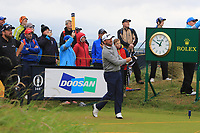 Graeme McDowell (NIR) on the 10th during the preview of the the 148th Open Championship, Portrush golf club, Portrush, Antrim, Northern Ireland. 17/07/2019.<br /> Picture Thos Caffrey / Golffile.ie<br /> <br /> All photo usage must carry mandatory copyright credit (© Golffile | Thos Caffrey)