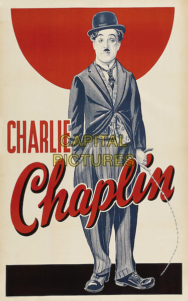 CHARLIE CHAPLIN poster.*Filmstill - Editorial Use Only*.CAP/PLF.Supplied by Capital Pictures.