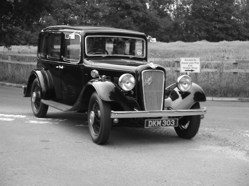Austin Six Saloon Cars - 1936
