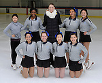 2-24-16, Skyline High School figure skating team