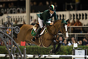 29th September 2017, Real Club de Polo de Barcelona, Barcelona, Spain; Longines FEI Nations Cup, Jumping Final; BREEN Shane (IRL) riding Laith during the final of the Nations Cup