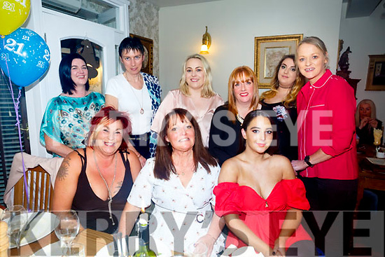 Karen Shields celebrating a birthday with friends at bella Bia's on Saturday Front L-r Queenie Horgan, Karen Shields, Nora Nolan back l-r Orla Fitzgerald, Deirdre Courtney, Carol O'Callaghan, Colleen Trant, Alison O'Connor,Chris O'Shea
