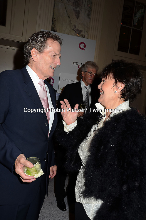 "Patrick Wayne and Linda Dano attend the 19th Annual QVC FFANY ""Shoes on Sale"" Gala on October 22, 2012 at The Waldorf Astoria Hotel in New York City."