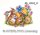 EASTER, OSTERN, PASCUA, paintings+++++,KL4510/6,#e#, EVERYDAY ,rabbits