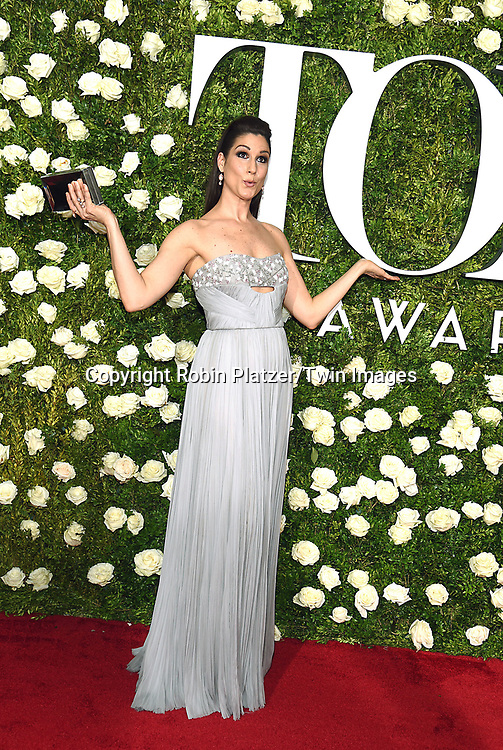 Stephanie J  Block attends the 71st Annual  Tony Awards on June 11, 2017 at Radio City Music Hall in New York, New York, USA.<br /> <br /> photo by Robin Platzer/Twin Images<br />  <br /> phone number 212-935-0770