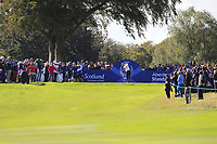 Anne Van Dam Team Europe on the 7th tee during Day 1 Fourball at the Solheim Cup 2019, Gleneagles Golf CLub, Auchterarder, Perthshire, Scotland. 13/09/2019.<br /> Picture Thos Caffrey / Golffile.ie<br /> <br /> All photo usage must carry mandatory copyright credit (© Golffile | Thos Caffrey)