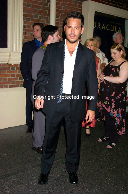 """Ricky Paull Goldin ..at the Broadway opening  of """" Dracula, The Musical"""" on ..August 19, 2004 at The Belasco Theatre in New York City...Photo by Robin Platzer, Twin Images"""