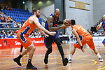 NELSON, NEW ZEALAND - MARCH 30: NBL Basketball Nelson Giants v Southland Sharks on March 30 2017 in Nelson, New Zealand. (NOTE: Editorial Use ONLY. Photo by: Evan Barnes Shuttersport Limited)