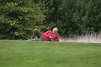 Supporter at the 4th tee during Round 1 of the Bridgestone Challenge 2017 at the Luton Hoo Hotel Golf &amp; Spa, Luton, Bedfordshire, England. 07/09/2017<br /> Picture: Golffile | Thos Caffrey<br /> <br /> <br /> All photo usage must carry mandatory copyright credit     (&copy; Golffile | Thos Caffrey)