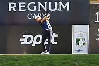 Tom Lewis (ENG) tees off the 18th tee during Friday's Round 2 of the 2018 Turkish Airlines Open hosted by Regnum Carya Golf &amp; Spa Resort, Antalya, Turkey. 2nd November 2018.<br /> Picture: Eoin Clarke | Golffile<br /> <br /> <br /> All photos usage must carry mandatory copyright credit (&copy; Golffile | Eoin Clarke)