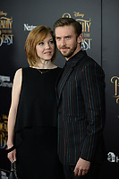 www.acepixs.com<br /> March 13, 2017  New York City<br /> <br /> Susie Hariet and Dan Stevens  arriving at the New York special screening of Disney's live-action adaptation 'Beauty and the Beast' at Alice Tully Hall on March 13, 2017 in New York City.<br /> <br /> Credit: Kristin Callahan/ACE Pictures<br /> <br /> Tel: 646 769 0430<br /> Email: info@acepixs.com
