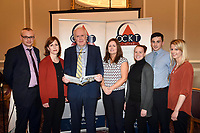 Pictured at an OCKT Chartered Accountants Budget Highlights Briefing in The Malton Hotel, Killarney on Wednesday were from left, Michael Leen, Clare leahy, Marcus Treacy, Sarah Treacy, Ciara Kelly, Paul Murphy and Katie Lenihan.<br /> OCKT and <br /> Photo: Don MacMonagle<br /> <br /> repro free photo